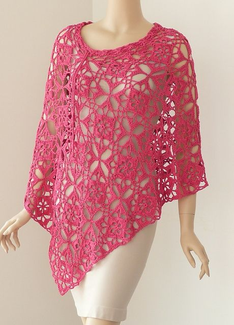 Poncho pattern by Doris Chan. I just love her!