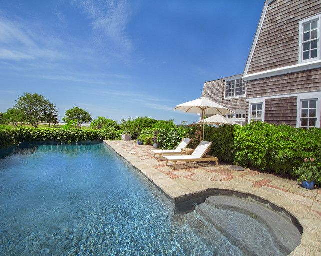Best 25 gunite pool ideas on pinterest gunite swimming for Pool design hamptons