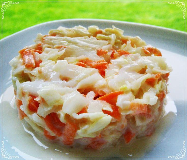dukan salata,coleslaw,beyaz lahana salatası