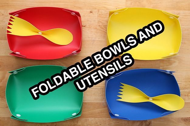 Save The Planet With These Reusable Snap And Go Bowls And Utensils