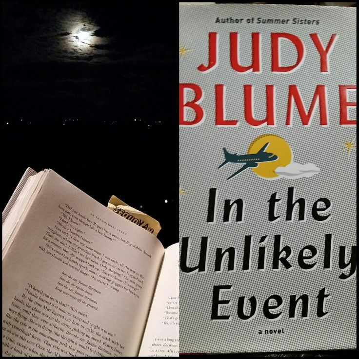 In The Unlikely Event by Judy Blume 2017P Oct.  Fiction - enjoyed