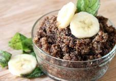 Chocolate Banana Breakfast Quinoa