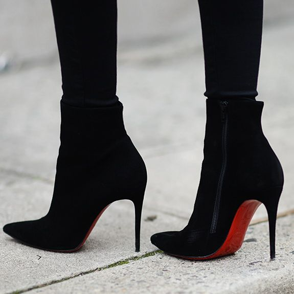christian louboutin red bottom boots