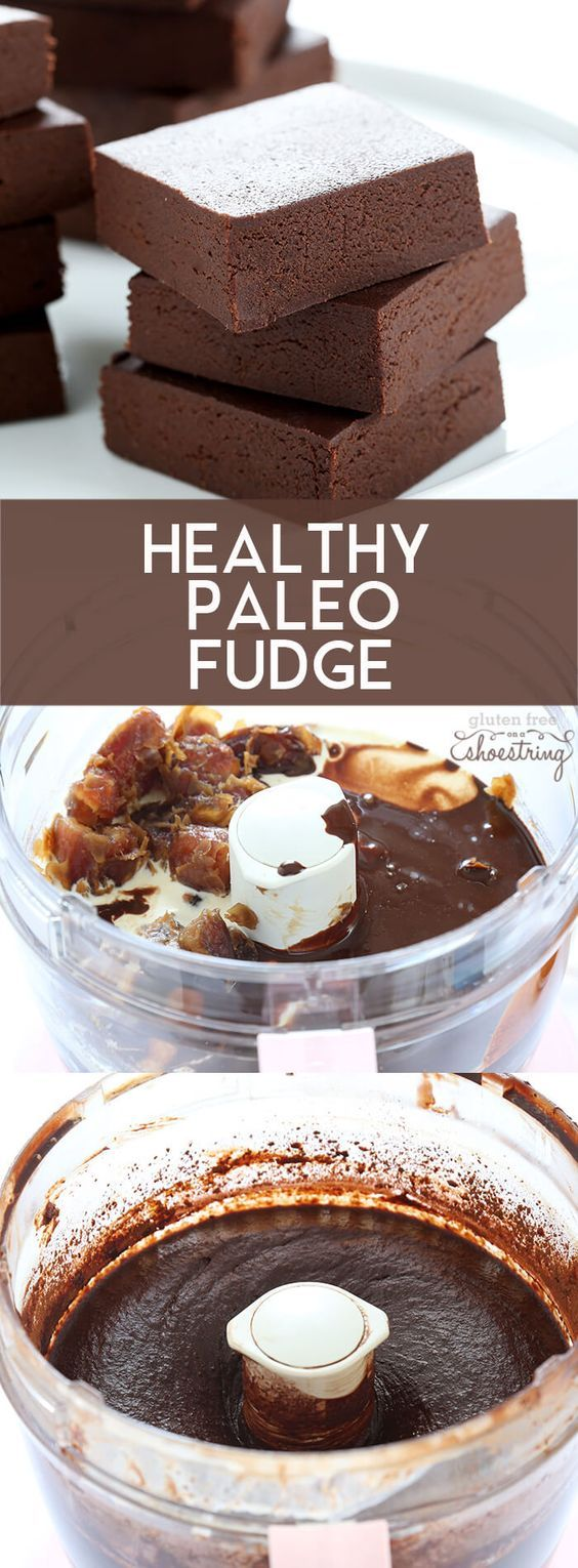 Healthy, rich chocolate Paleo fudge, with no added sweeteners of any kind (not even sugar substitutes!). No baking and no cooking required!
