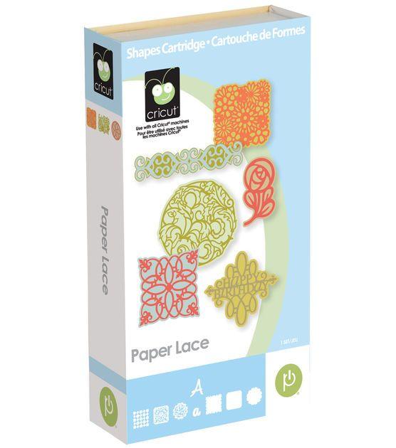 Cricut Provo Craft Shape Cartridge Paper Lace