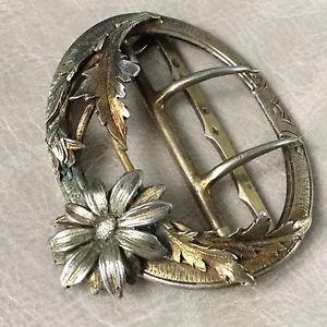 Boucle De Ceinture Argent Époque Fin XIXè Art Nouveau Jugendstil Silver Buckle | eBay