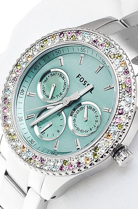 Fossil ES3051 Ladies STELLA Multi Eye Watch, Disclosure: Affiliate Link --BEAUTIFUL!!