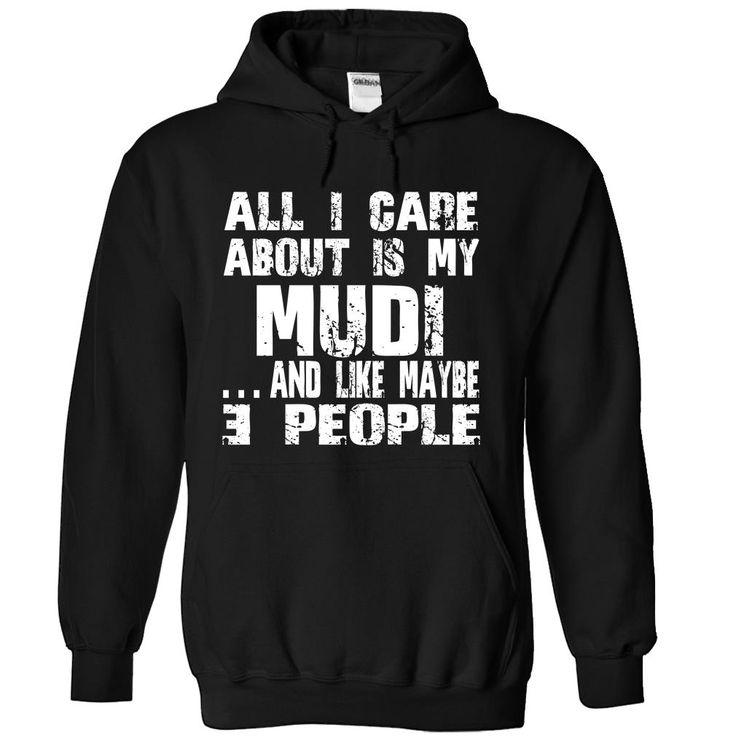 MUDI-the-awesome Cool Mudi T Shirt (*_*)