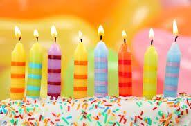 Födelsedagsljus till alla kreativa tårtor. Glöm inte en önskan :)