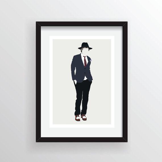 Peter  Pete  Doherty  A4 impression d'Art numérique par Posteritty, £8.00
