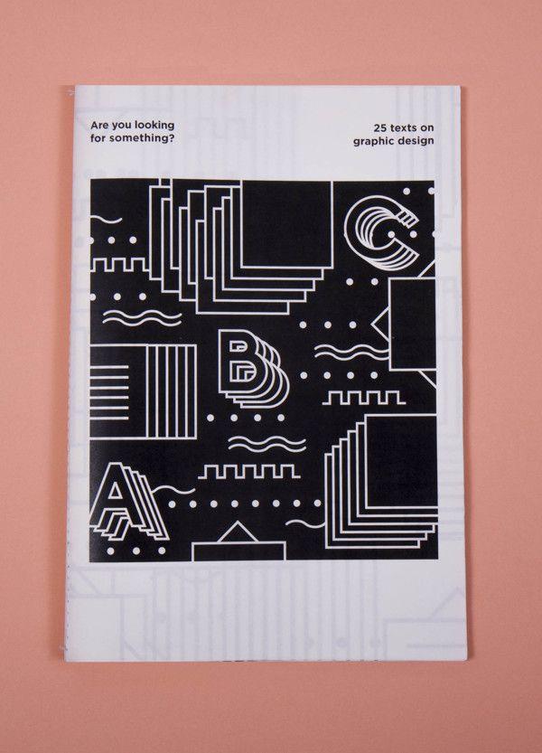 25 texts on graphic design by Raquel Peixoto, via Behance