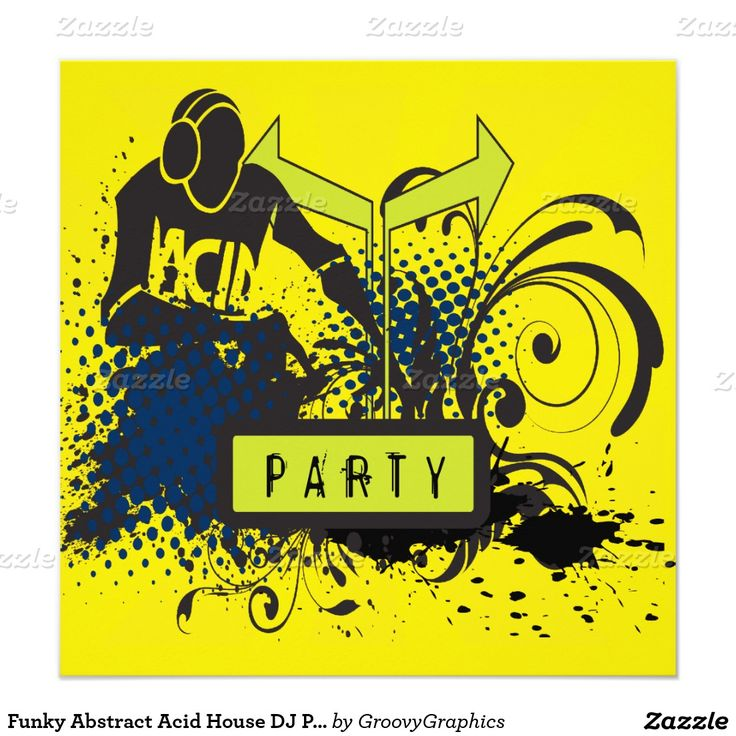 65 best DJ Party Invitations images on Pinterest | Party invitations ...