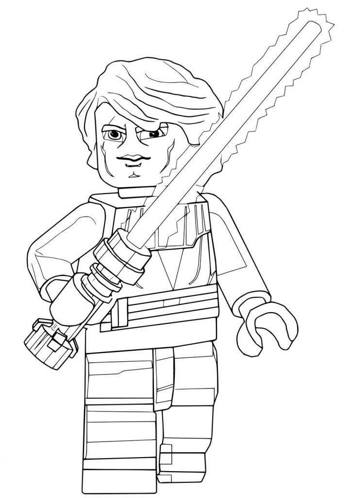 Luke Skywalker Coloring Pages Best Coloring Pages For Kids In 2020 Star Wars Colors Lego Star Wars Lego Coloring Pages