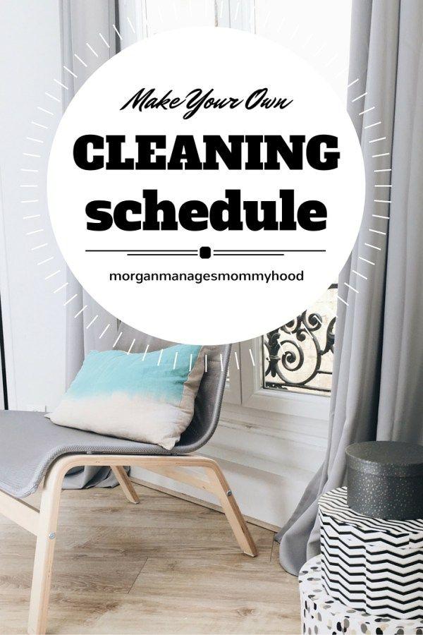 Maken van uw eigen, aangepaste schoonmaak schema voor uw huis kan overweldigend lijken.  Maar het hoeft niet zo te zijn!  Met deze stap-voor-stap handleiding om te leren hoe je een aangepaste woning schoonmaken planning maken voor de dagelijkse, wekelijkse en maandelijkse taken!
