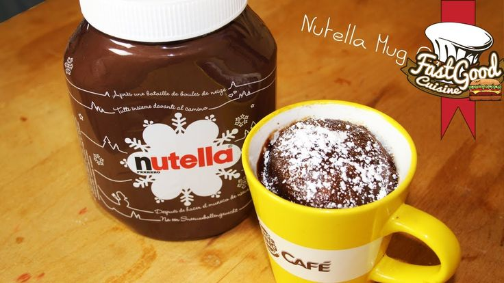 Une tuerie au Nutella On partage mes amis =) Pour la recette : - 2 Cuillères à soupe de Nutella - 1 Cuillères à soupe d'huile - 1 Oeuf - 1 Cuillère à soupe d...