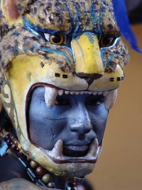Guerrero Jaguar - Mexico Imperio Azteca …