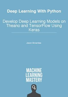 Deep Learning With Python Deep learning is the most interesting and powerful machinelearning technique right now. Top deep learning libraries are available on the Python ecosystem like Theano and TensorFlow. Tap intotheir power in a few lines of code using Keras the best-of-breedapplied deep learning library. @tachyeonz