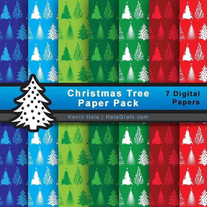 Christmas Paper Packs