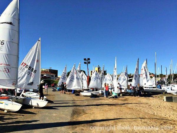 Bellerive Regatta, Bellerive Yacht Club #BelleriveTasmania #sailing - article and photo for think-tasmania.com