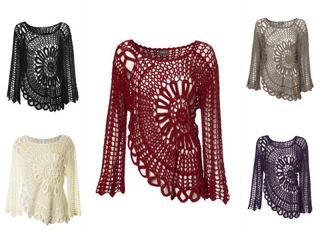blusa crochet pattern