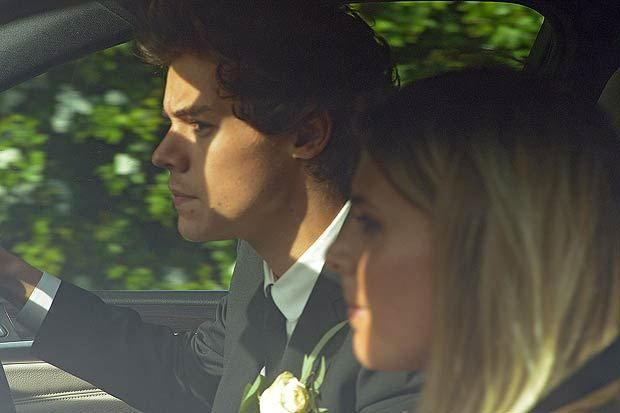Pictures from Harry Styles mum's wedding today (1st June) where his mum Anne Cox married Robin Twist and the reception was at Pecks Restaurant near congleton.