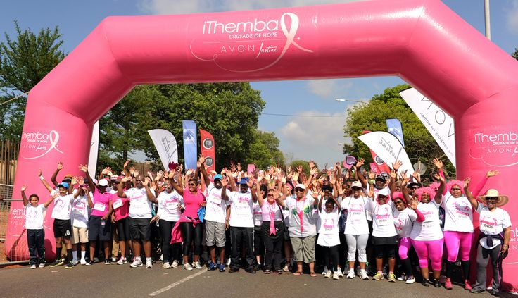 The 8th annual Avon Justine iThemba Walkathon in South Africa was attended by a record 20,000 participants on Oct. 27, 2013.