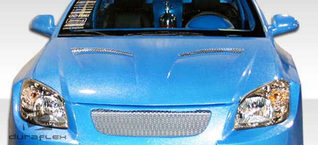 2005-2010 Chevrolet Cobalt 2007-2009 Pontiac G5 Duraflex SG Series Hood - 1 Piece