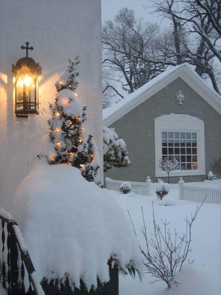 Matthews House and Garden. Love the lantern...