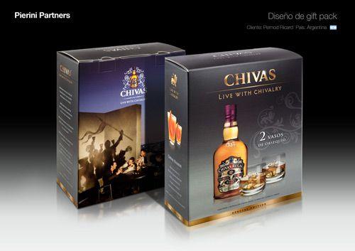 El Whisky Chivas estrena un elegante packaging diseñado por Pierini Partners