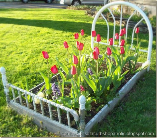 Spring Flowers And Yard Landscaping Ideas 20 Tulip Bed: 50 Best Images About Flower Beds On Pinterest