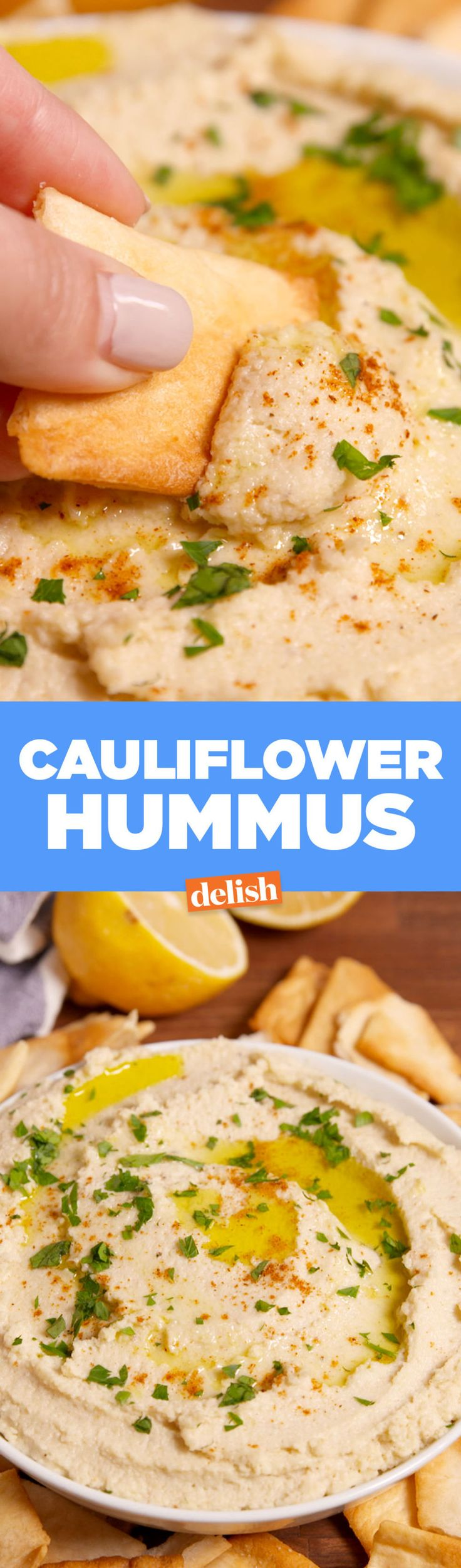 Cauliflower Hummus Is Our Newest Obsession