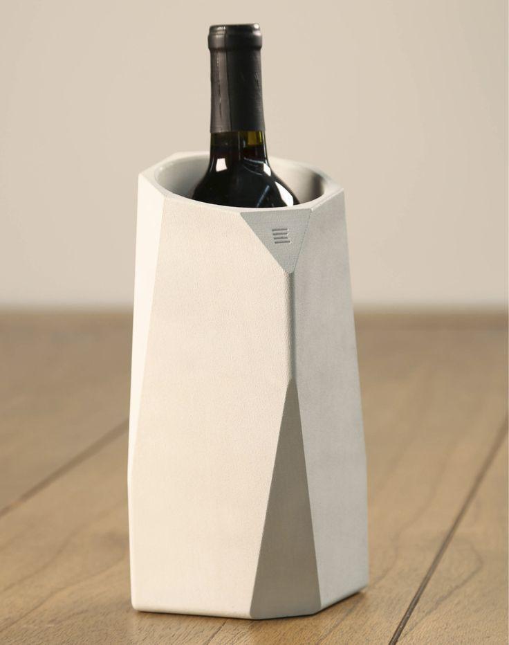 13 best bar images on pinterest wine for Concrete wine cooler