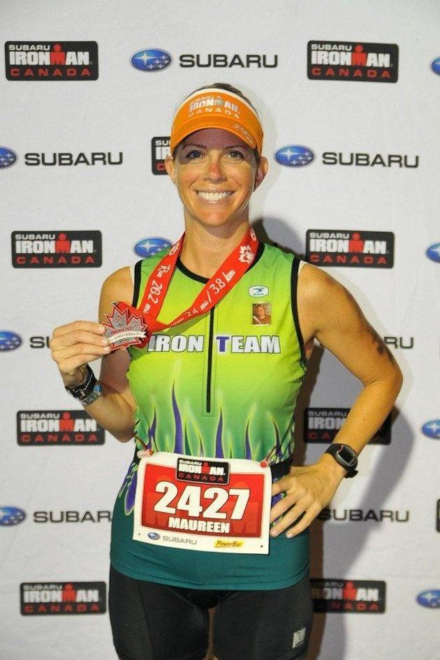 Maureen Reagan, athlete - Elle est sportive.
