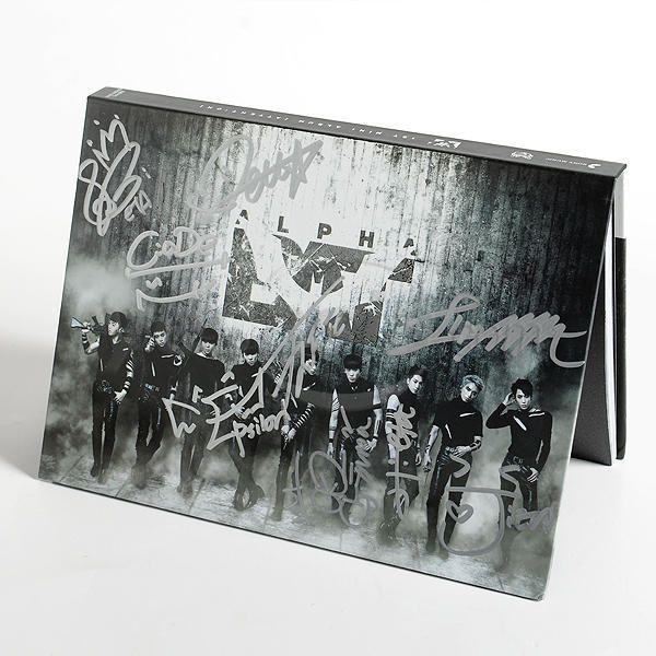 AlphaBAT Mini Album Vol. 1 - Attention (Autographed)