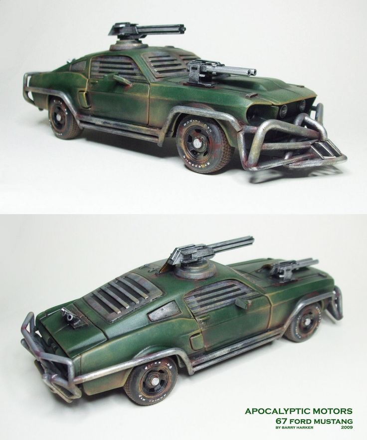 Post Apocalyptic '67 Ford Mustang
