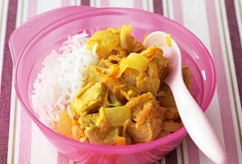 Nice and mild chicken curry