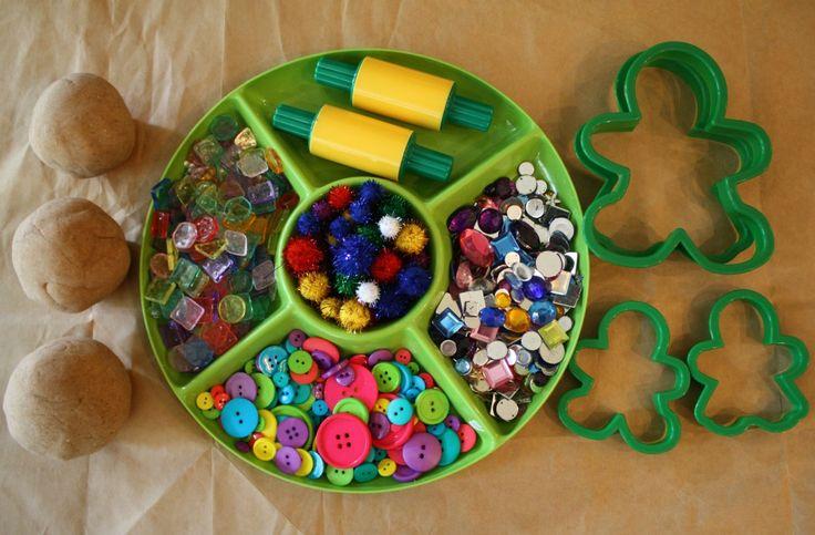 Advent Day 10: Make Gingerbread Playdough | Fantastic Fun & Learning