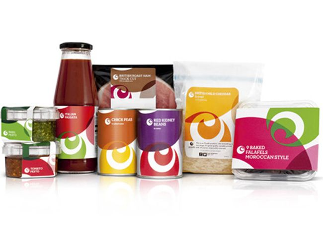 Packaging of the World: Creative Package Design Archive and Gallery: Ocado (Redesigned)