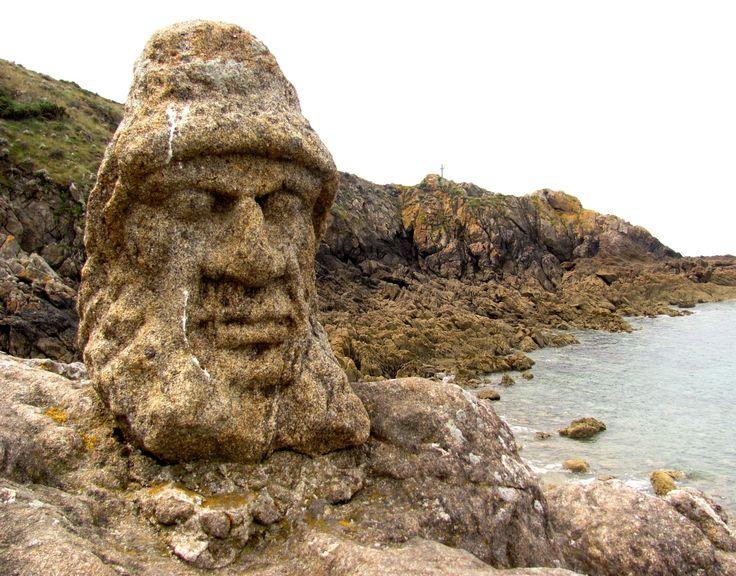 Les rochers sculptés - Saint Malo - Rothéneuf