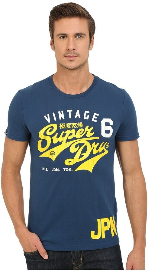 Superdry STACKER MODERN CLASIC LITE - Camiseta print - flint grey grit oRd19SI1Bh