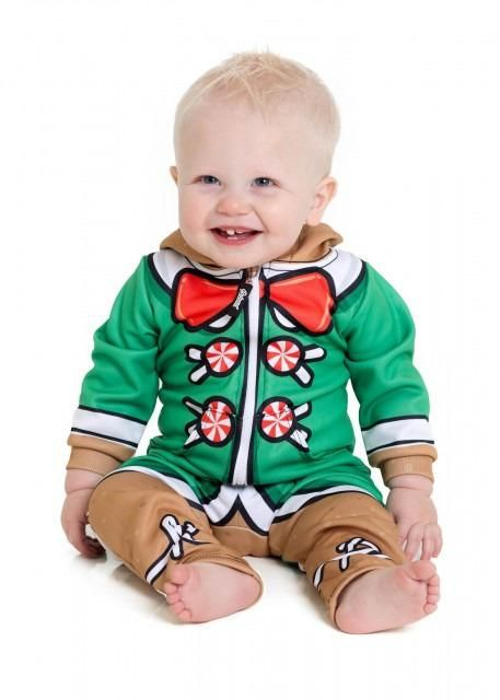 An elf onesie for kids from Katy Perry's 'Beloved' clothing brand