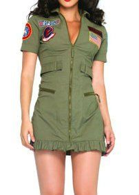 Sexy Women's Army Halloween Costume $7~$10