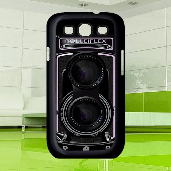 Cool Camera  Rolleiflex Samsung Galaxy S3  black / by MuliasCraft, $16.00