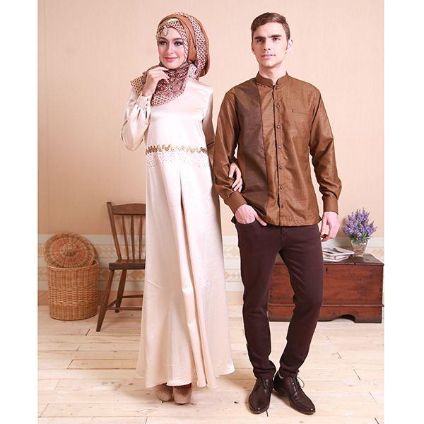 Sarimbit couples. Dress Tasanee & Koko Deva