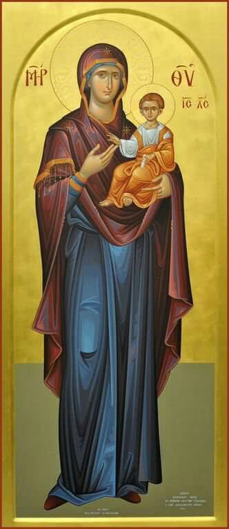 The Forewarning [Good Harbinger] Icon of the Theotokos  / Theotokos