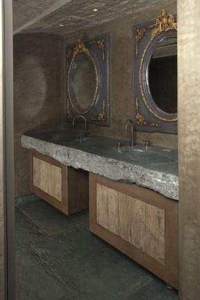 Meer dan 1000 idee n over blauwe badkamers op pinterest blauwe badkamer verf badkamer verf - Facing muur voor badkamer ...