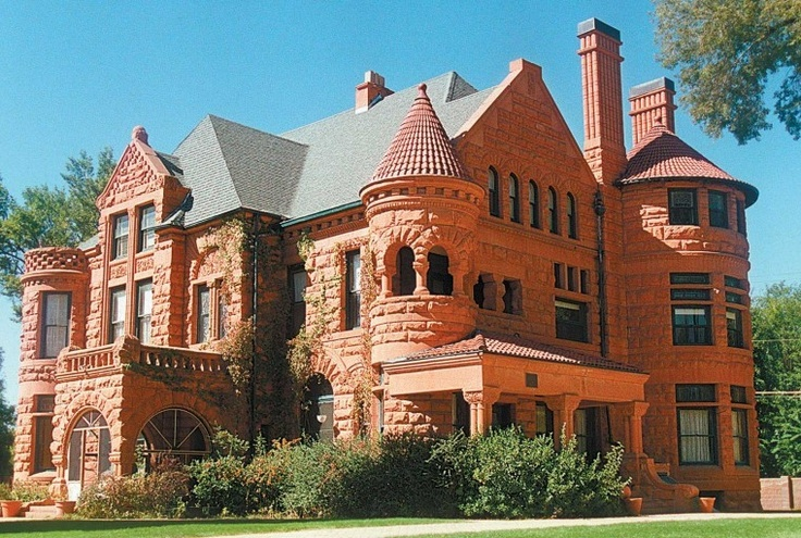 The Orman-Adams House in Pueblo, CO.  (Listed on the National Register Of Historic Places).  #76000567