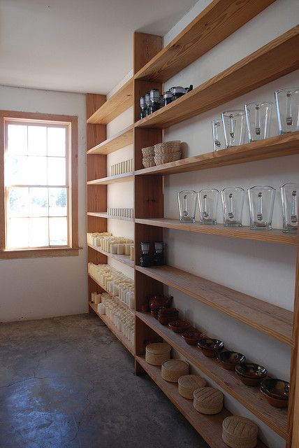 wood shelves / donald judd