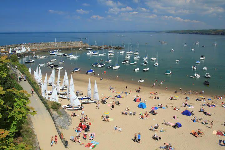 New Quay Beach