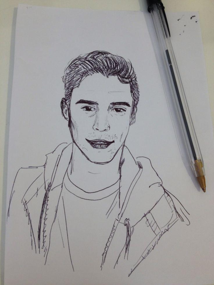 Retrato de Samuel González Actor Chileno